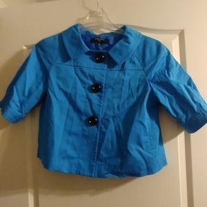 Nine West blue jacket